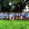 group picture of scouts at asocio summit in macedonia