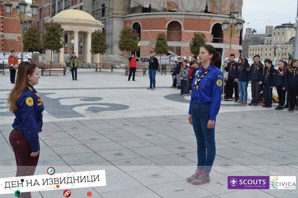 den na izvidnici scouts day macedonia