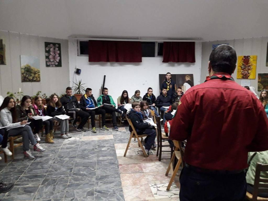 школа за ориентација предавање на извидници топографија sojuz na izvidnici na makedonija сојуз на извидници на македонија