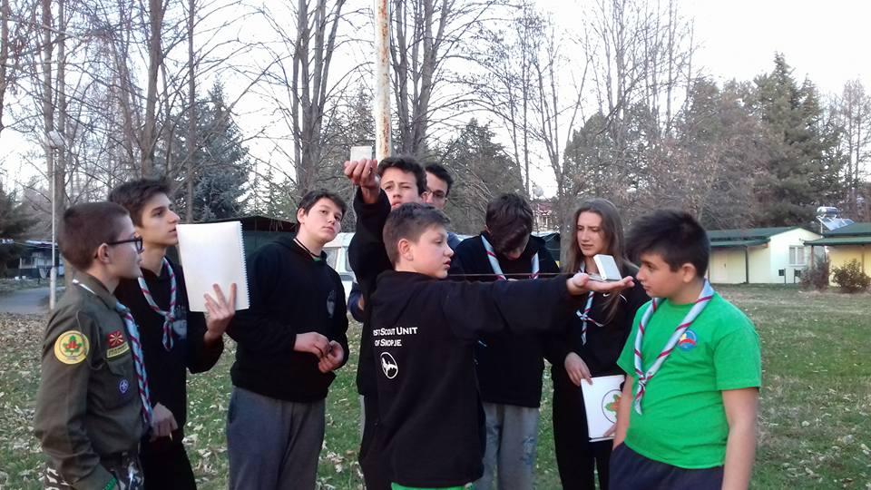 shkola za orientacija izvidnici сојуз на извидници на македонија школа за ориентација бусола м53
